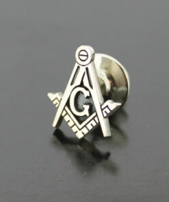 Blue Lodge Square and Compass Lapel Pin