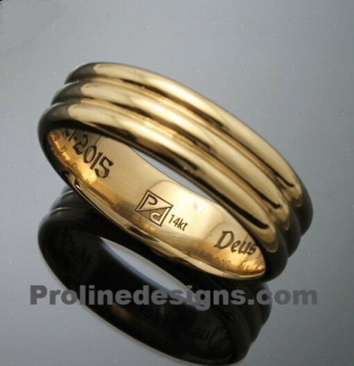 Masonic 33rd Degree Scottish Rite Ring in 14k Gold