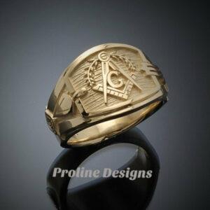 Gold Masonic Rings Archives - ProLine Designs