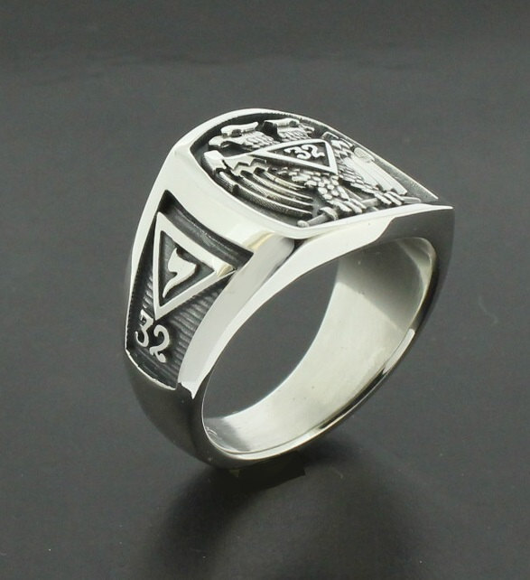 Silver  Degree Ring