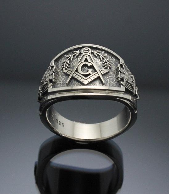 Scottish Rite Masonic Rings