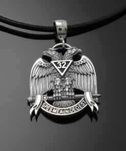 Scottish Rite Double Eagle Pendant ~ 009